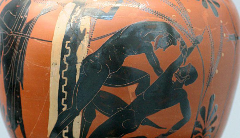 Antike Vase Olympia