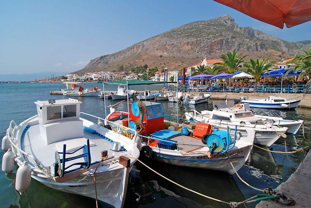 Der Hafen von Monemvasia, Foto: Joern Pfannkuch für Griechenlandprofi.com