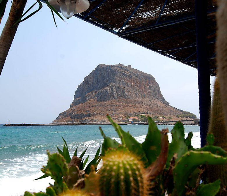Der Fels von Monemvasia, Foto: Joern Pfannkuch für Griechenlandprofi.com